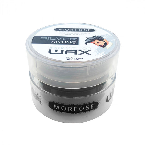 Morfose Silver Styling Hair Colour Wax Silver 100ml - Haarkeuze