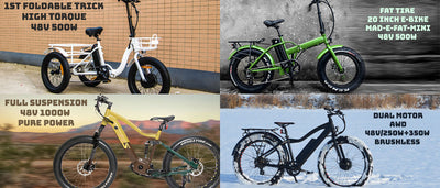 Mad Jack Outdoor Electric Bikes