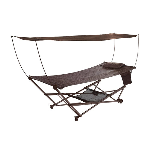 Collapsible Hammock Bed & Stand Combo 35 W STOW-EZ Hammocks