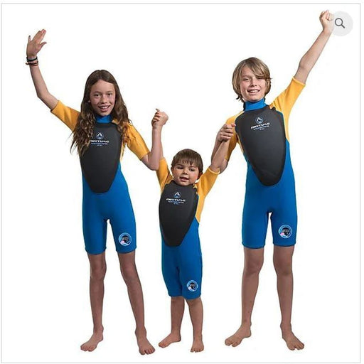 Kids wetsuit with built-in flotation Water Sports