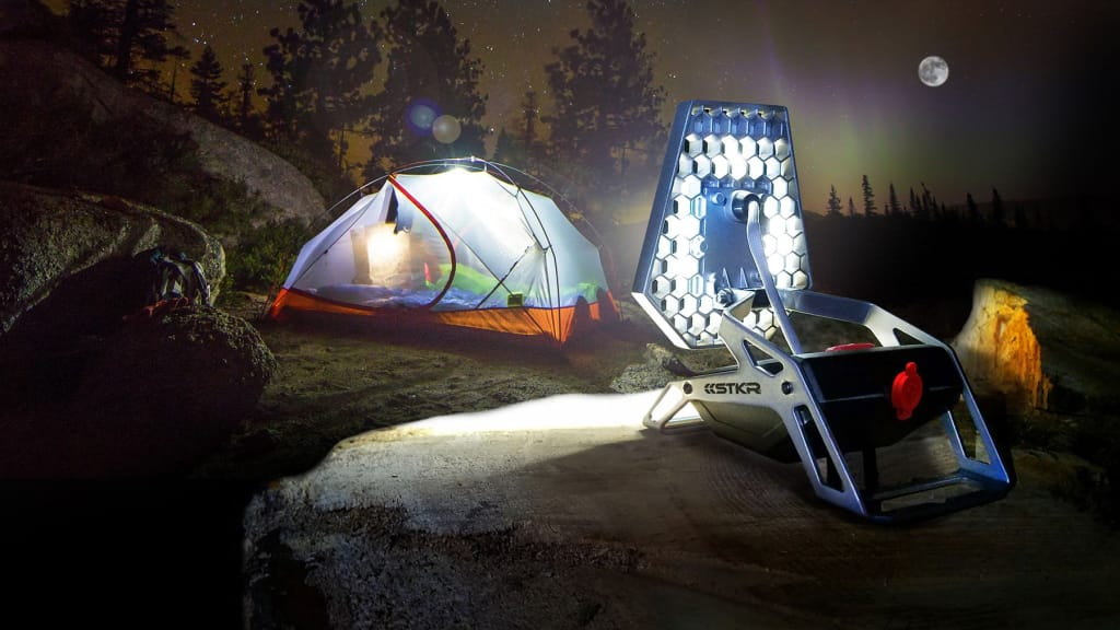 STKR Concepts Mobile Task Light - LED portable camping light
