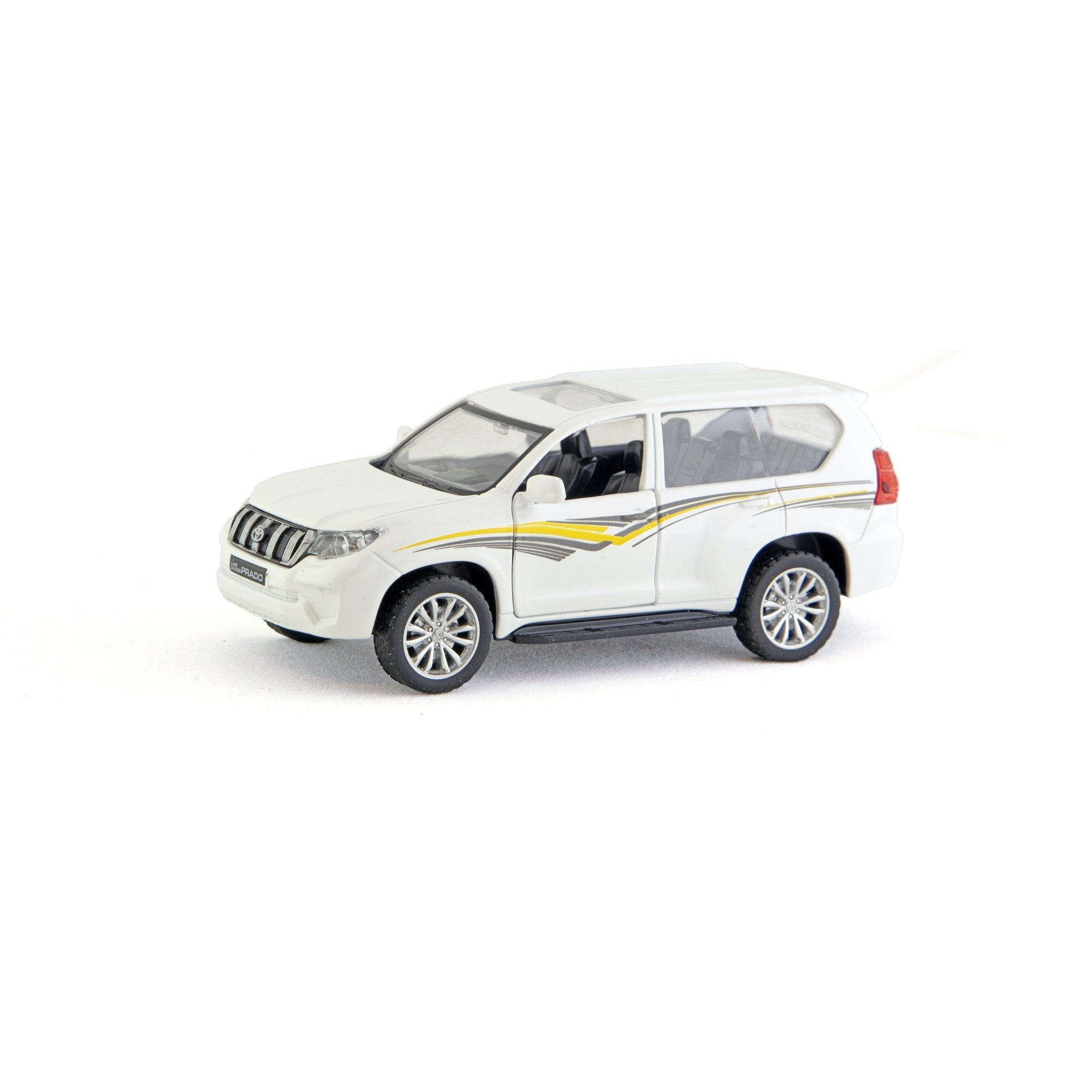 Land Cruiser Prado 1:43 Hvit