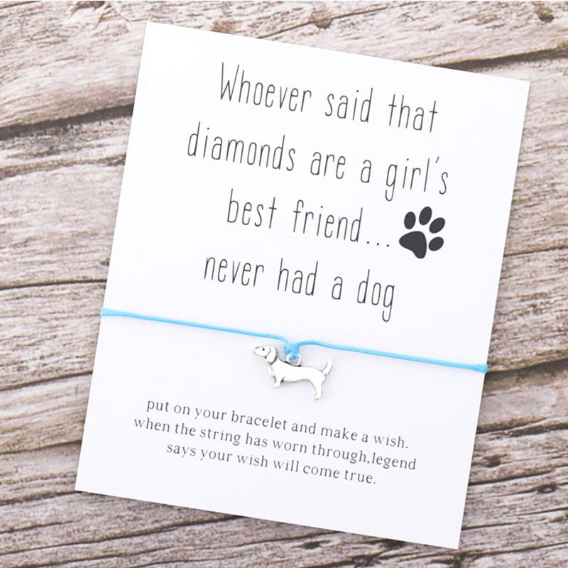 '' Dog, My Best Friend'' Bracelet
