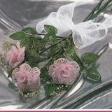 rose di perline in conteria veneziana mazzo bouquet per sposa