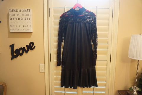 EXCLUSIVE NEW ARRIVAL by Tasha Cobbs!! Black/ Lace Dress: Size 3X