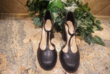EXCLUSIVE NEW ARRIVAL from Tasha Cobbs!! Black Mary Jane Strapped Pump: Size 11W