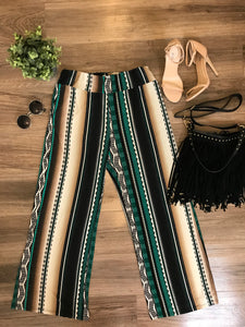Aztec Printed Pants! Size L/XL