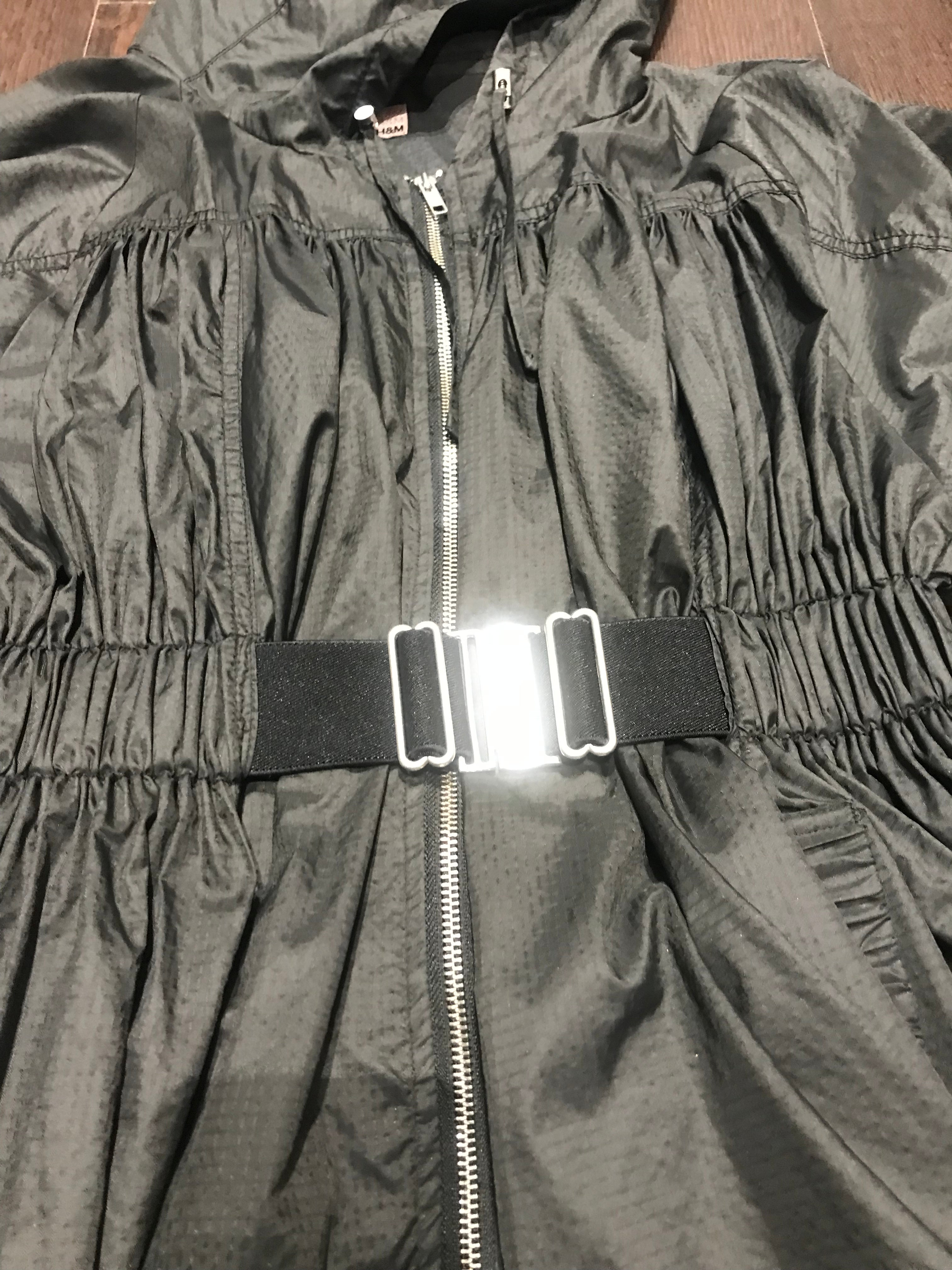 H&M Flaired Windbreaker Jacket: Sz 10