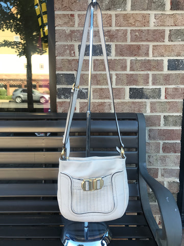 B. Makowsky Cream Crossbody: Small