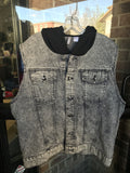 H&M Denim Hooded Vest