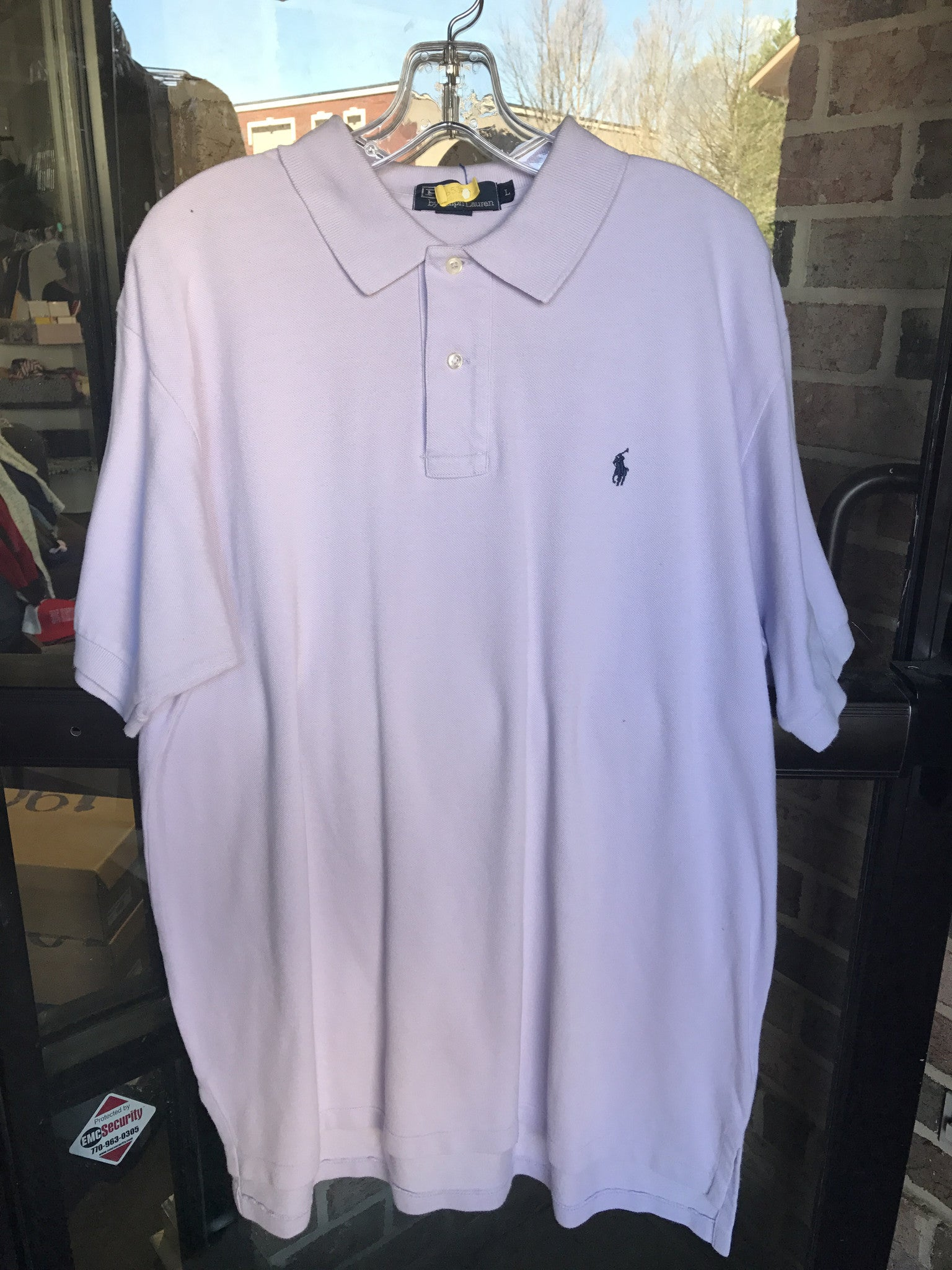Polo by Ralph Lauren Lilac Shirt: Sz L