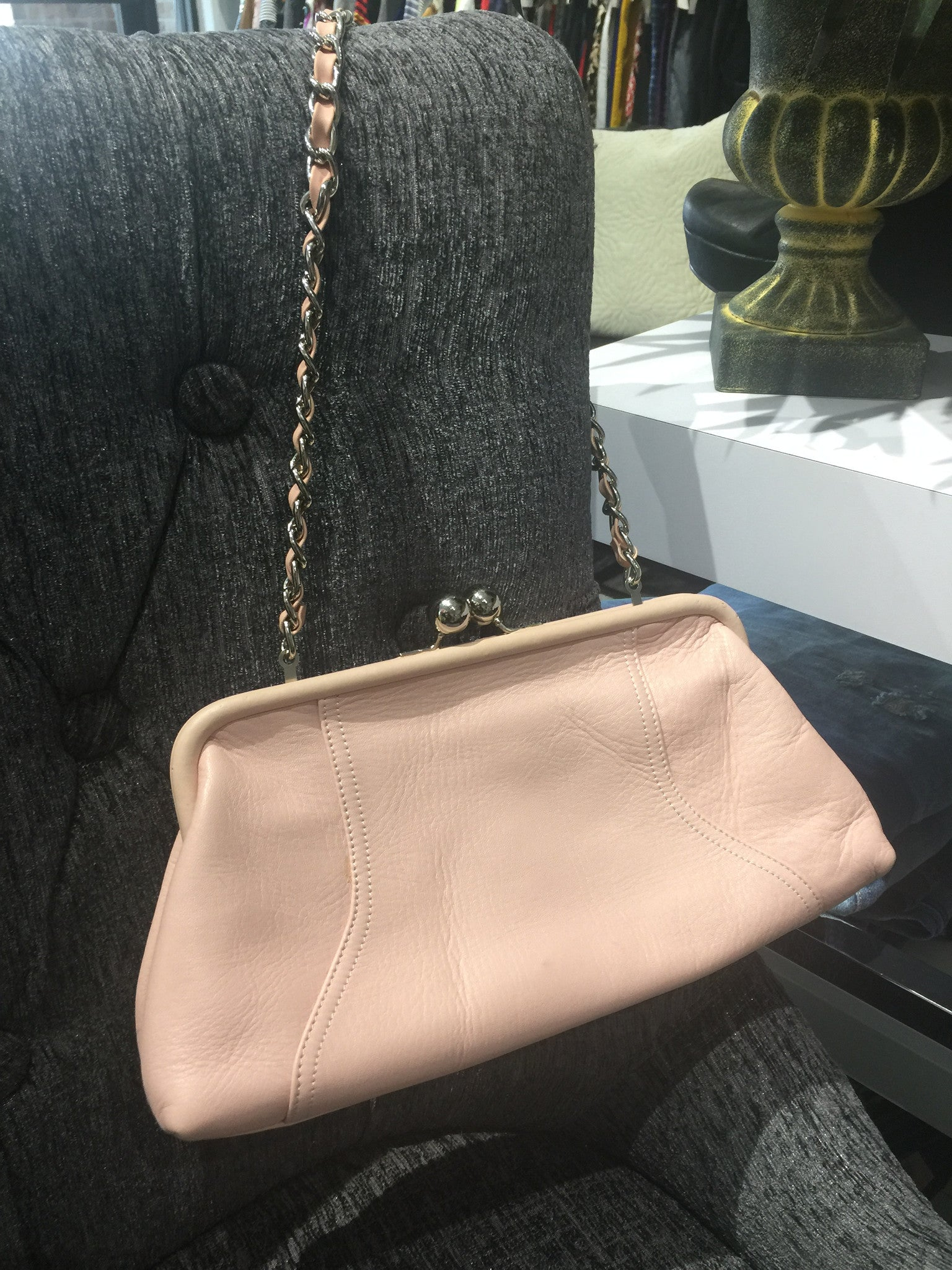 Tiganello Pink Purse: SMALL