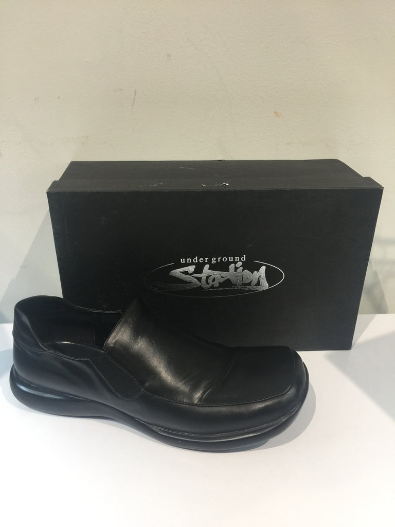 Underground Station Blk Loafer: Sz 12