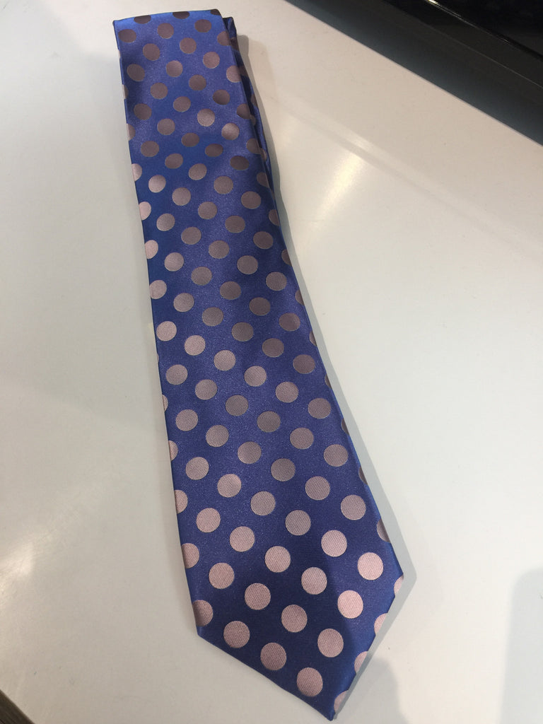 Astor & Black Custom Polka Tie