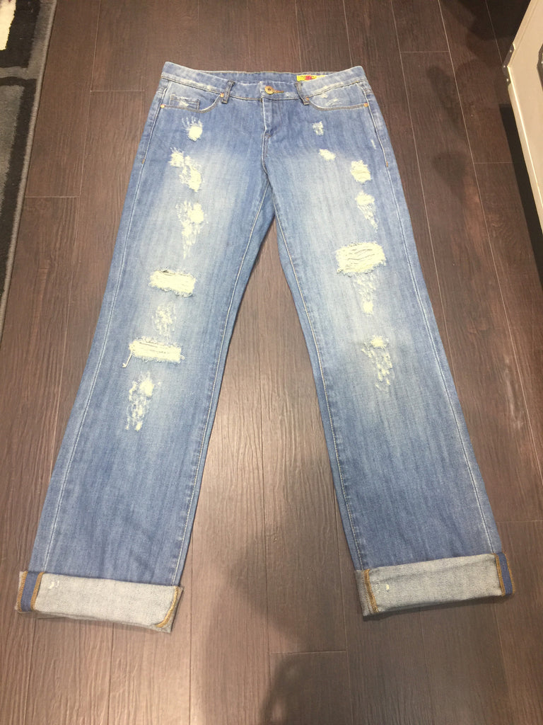 Blank NYC Distressed Denim: Sz 27