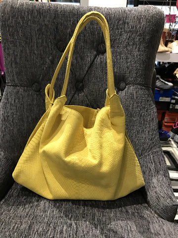 Berge Canary Leather Hobo