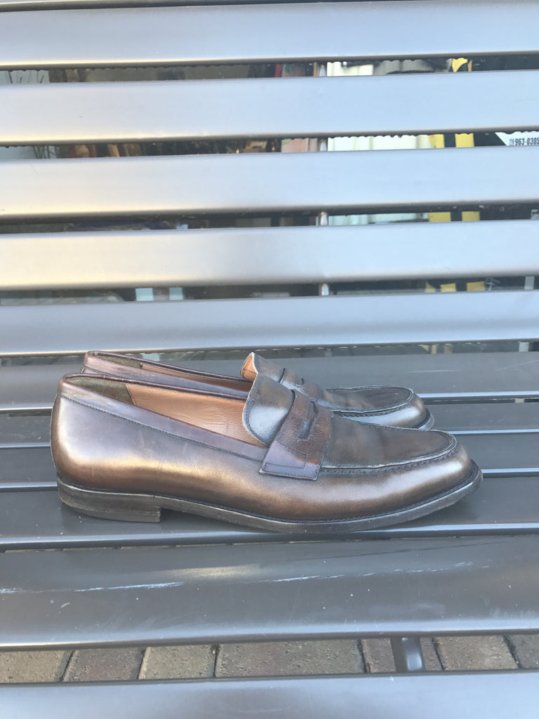 Men's Salvatore Ferragamo Brown Loafer: Size 9.5