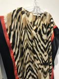 NY&CO Tiger Printed Cape: Sz M