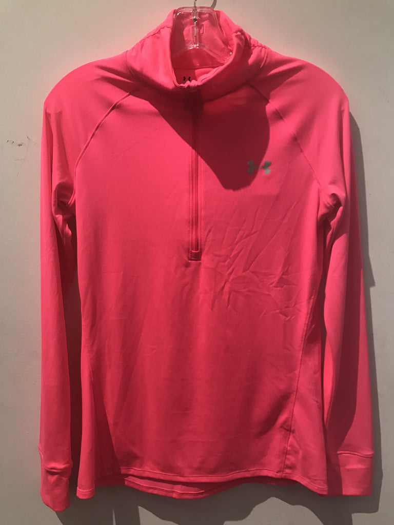 Under Armor Neon oink Track Top: Sz S