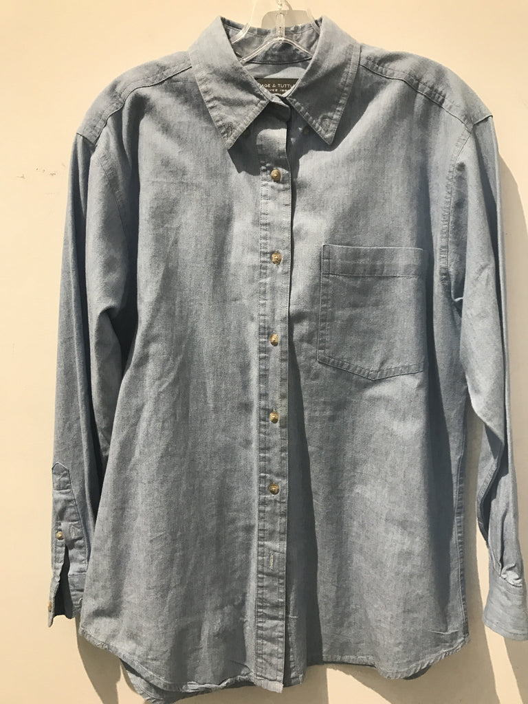 Page Denim Shirt: Sz M