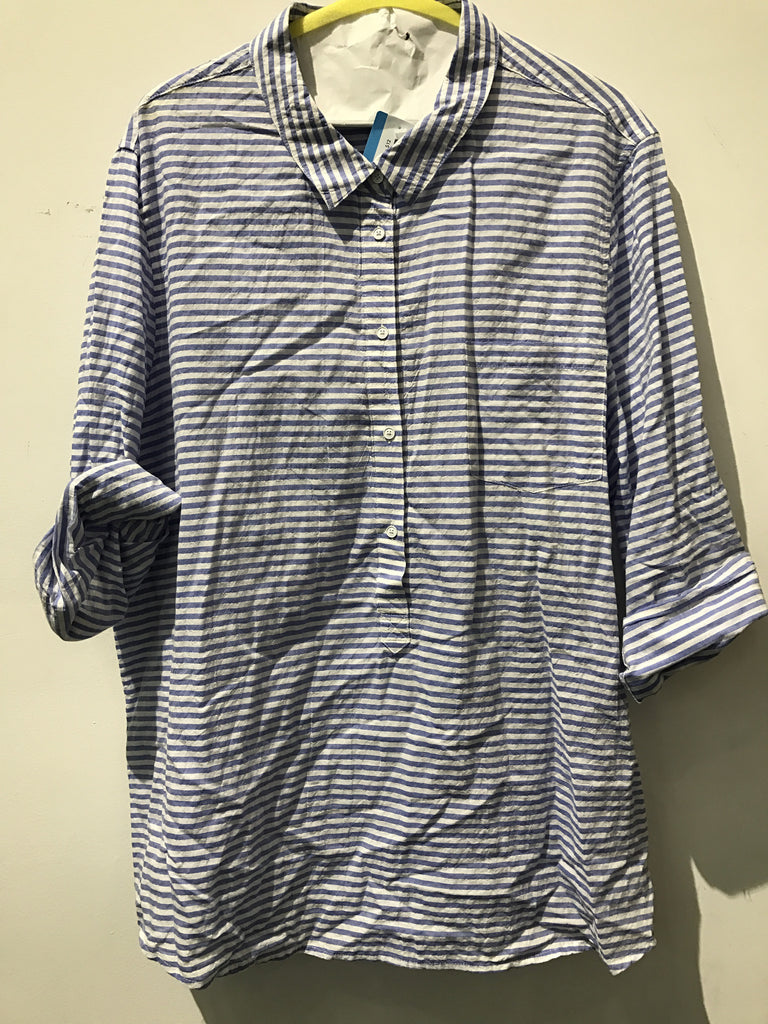 Gap Strioe Shirt: Sz 2X