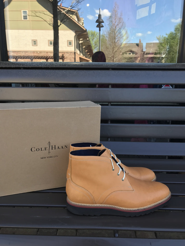 Cole Haan Leather Desert Boot: Sz 12