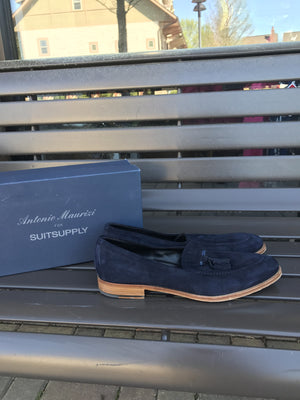 Suit Supply Tasseled Loafers Sz 12