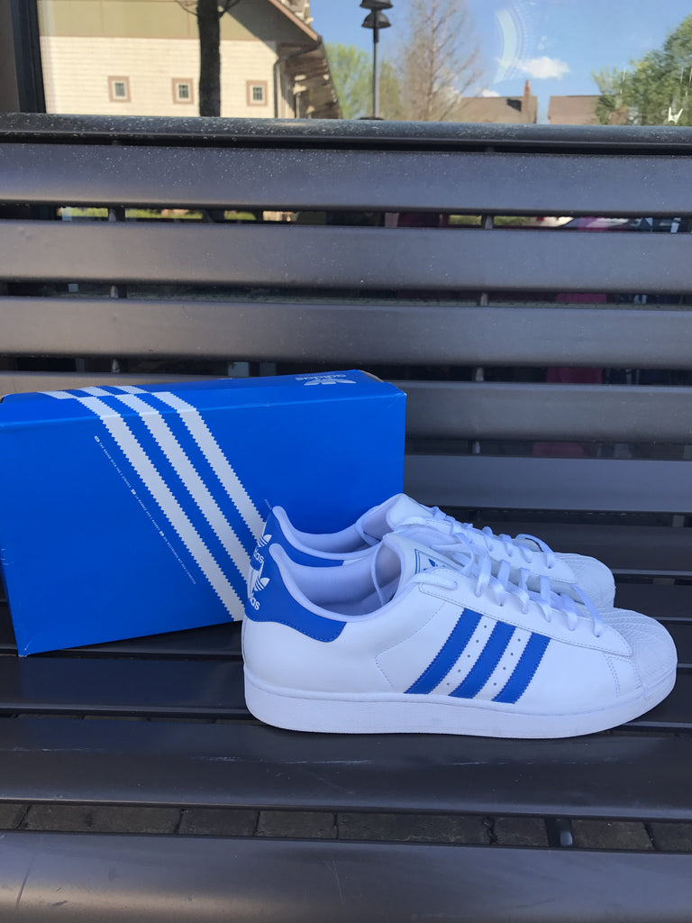 Adidas Superstars Blue: Sz 13