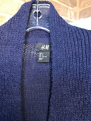 H&M Cable Knit Pullover Sweater: Sz L