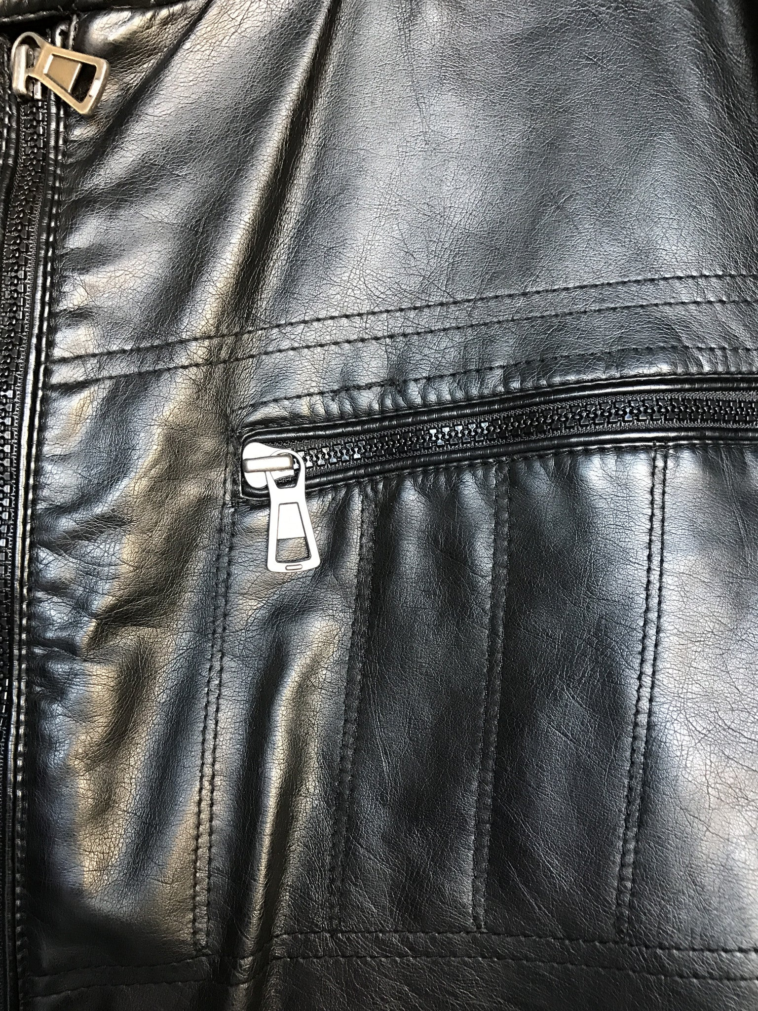 INC Faux Leather Jacket: Sz XL