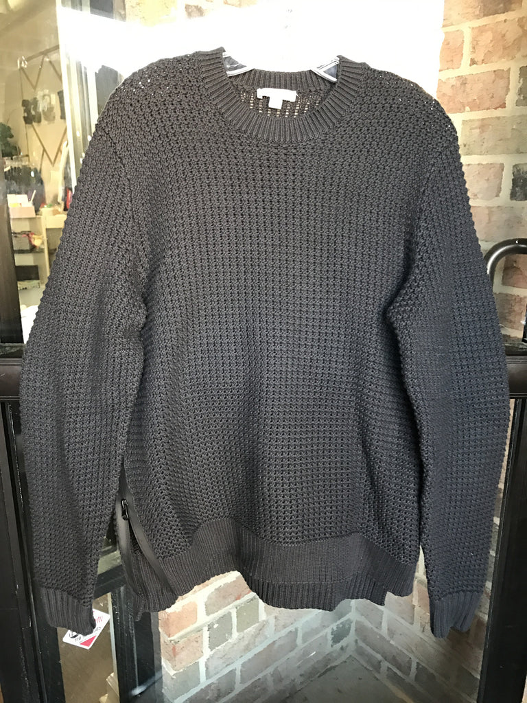 Gap Sweater w/ Zippered Sides: Sz L