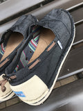 Toms Black Denim: Sz 11