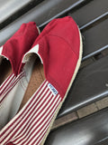 Toms Red Stripe: Sz 12