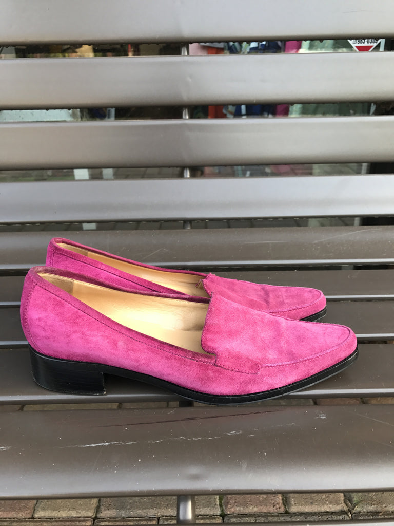 Sergio Rossi Suede Flats: Size 8