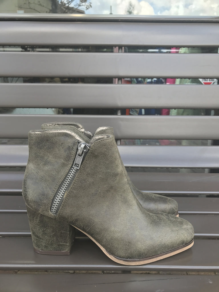 Michael Antonio Hunter Zipper Booties: Sz 8.5