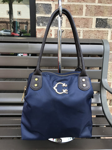 C Wonder Navy Tote: Medium
