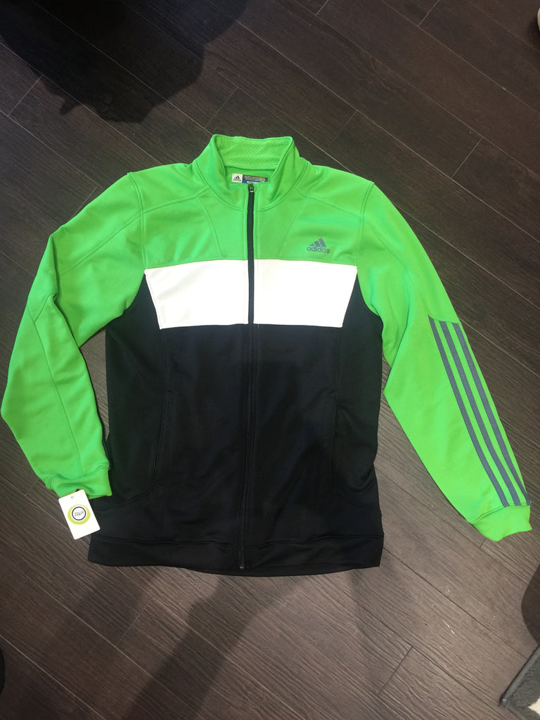 Men's Adidas Track Jacket: Sz M