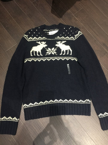 Abercrombie Knit Sweater: Sz XL