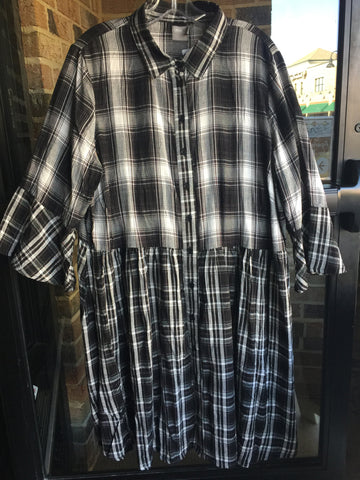 Asos Plaid Dress: Sz 16