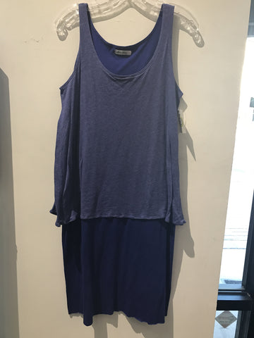 Allen Allen Royal Blue Tank Dress: Sz S