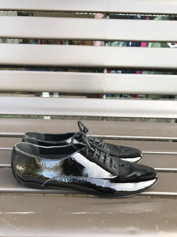 ALDO Black Patent Oxford: Sz 36