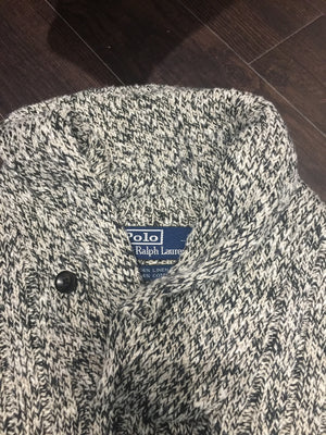Polo Knit Sweater: Sz M