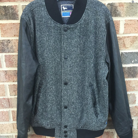 MEN'S Grey Tweed Souvenir: Size XL