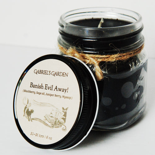 Banish Evil Away Candle