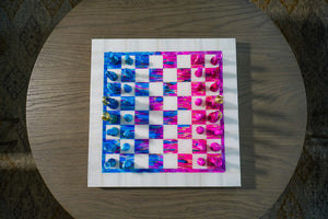 Light Blue & Pink | Chess Set