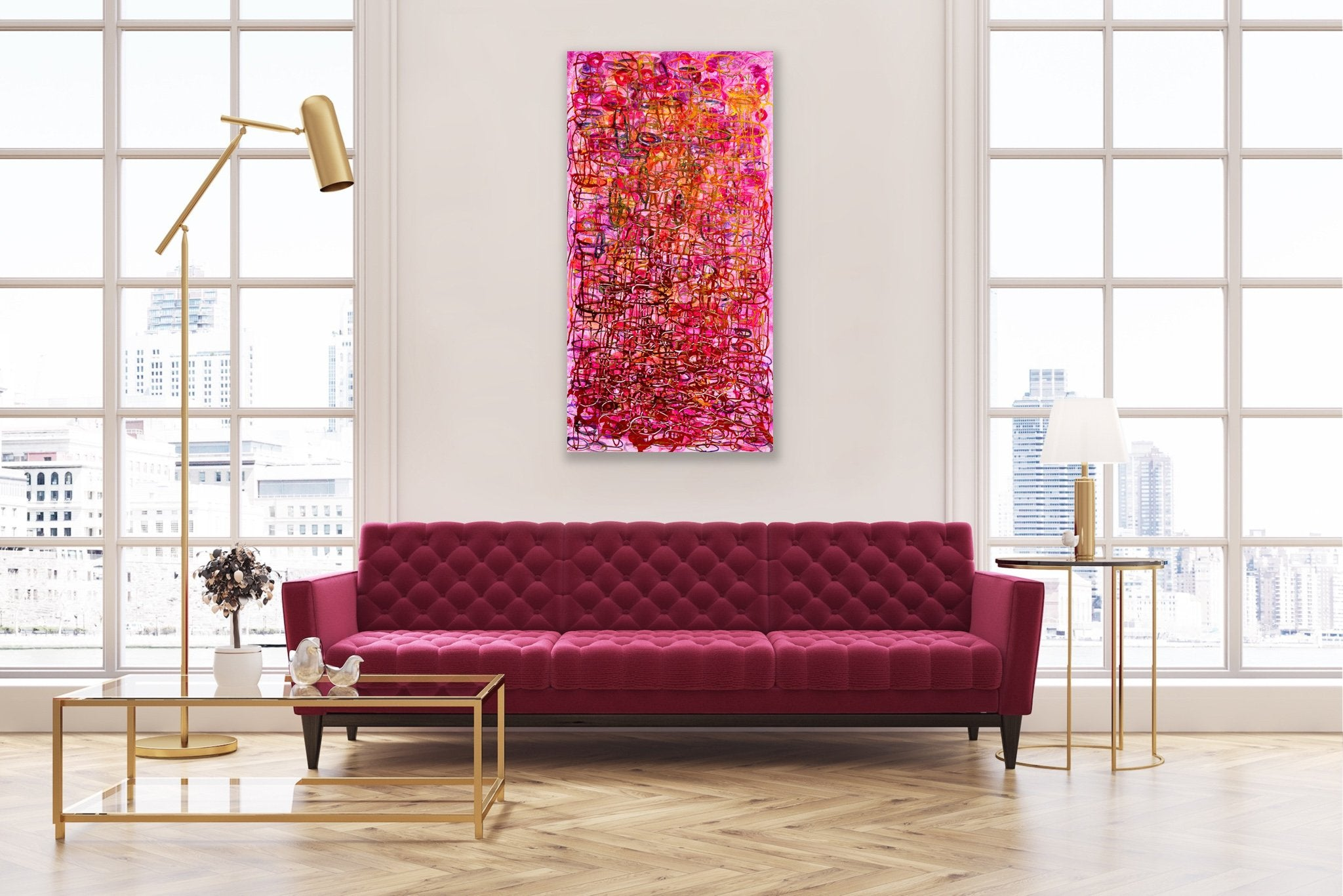 Rosy - Metal Print - BOUHDY ART