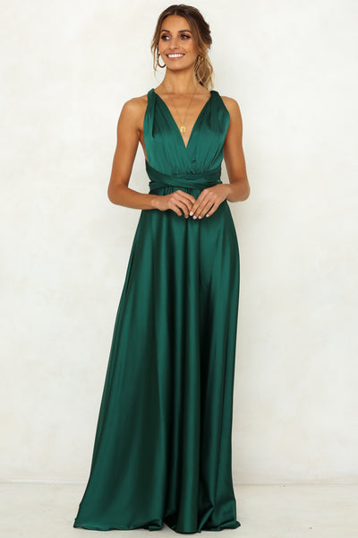 Some Like It Hot Maxi Dress Jade