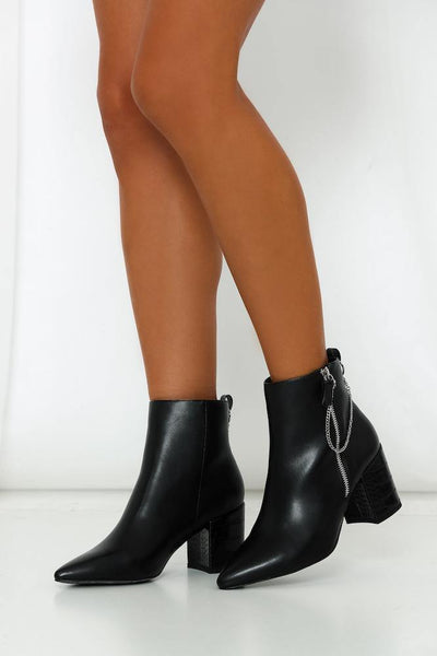A LIST Roddick Boots Black