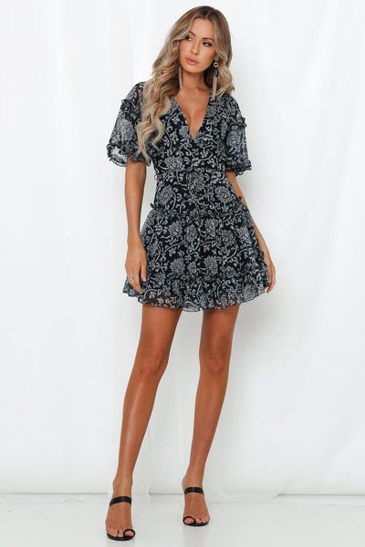 Just Priceless Dress Navy | Hello Molly USA