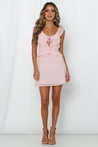 Halcyon Court Dress Pink